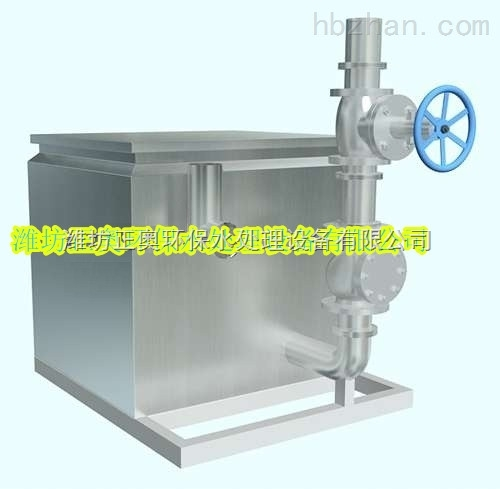 酒店/商场/餐馆污水隔油提升设备材质好