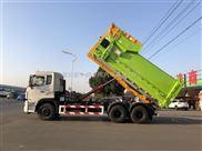 吉安东风天锦拉臂式垃圾车