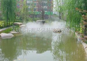 浙江人工湖泊喷雾造景工程