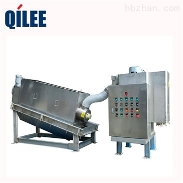 qld301 城市污水废水处理叠螺式污泥泥压滤机