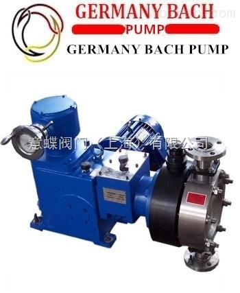 进口柱塞式计量泵‖德国BACH/上海总代理