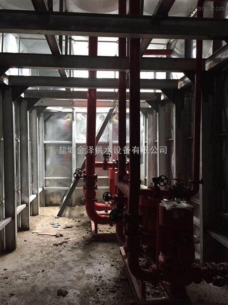 广西梧州288吨地埋式消防一体化泵站厂家