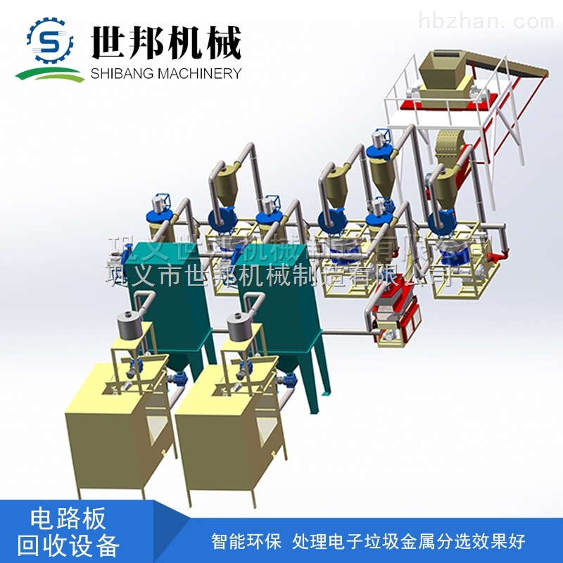 sg-500 曙光500型电路板回收设备