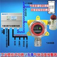 化工廠廠房柴油泄漏報警器,氣體探測儀器報警點如何設定?