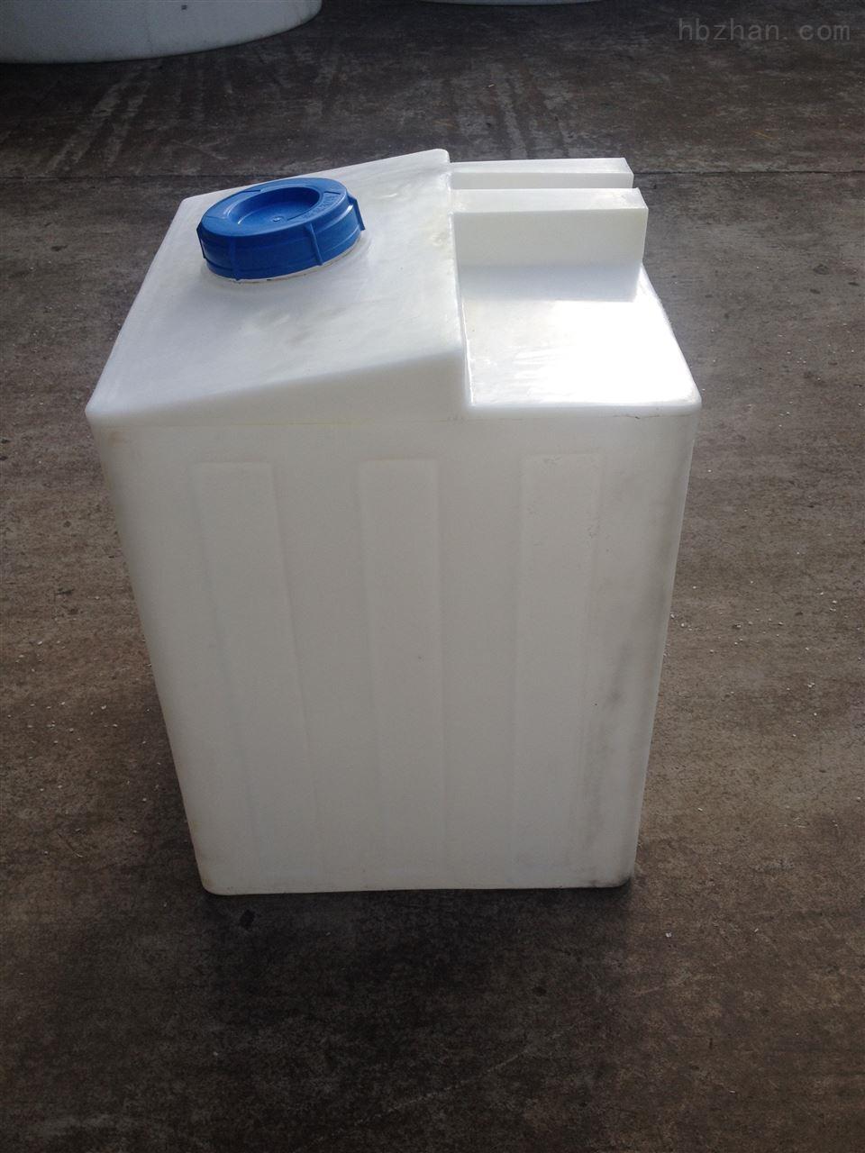 防腐蚀200L方行搅拌罐 方形200升PE加药桶价格