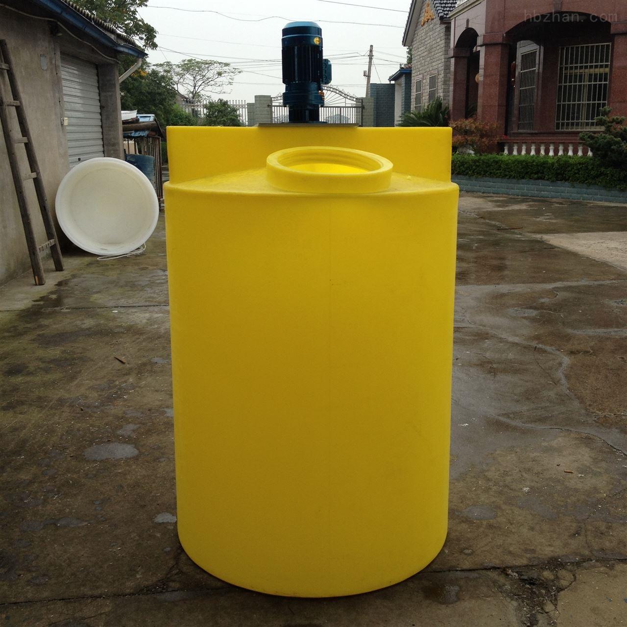 湖州1.5立方塑料搅拌罐可配搅拌机