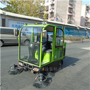 HRD-1850-全封闭驾驶式扫地车