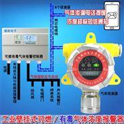 液氨罐区氨气浓度报警器,煤气浓度报警器微信云监测