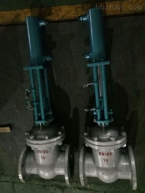 DN150 PN16液动法兰闸阀Z741H-16C
