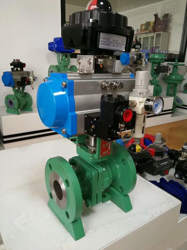 液氨储罐V01A回流切断阀Q641F-40-DN50