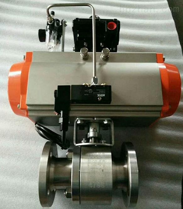 液氨储罐V01A气相管道切断球阀Q641F-40P
