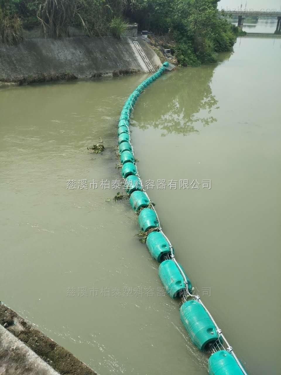 河道拦污浮排拦污体浮筒厂家