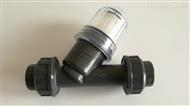 塑料PVC Y型过滤器