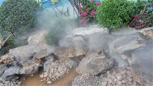 人造雾除尘设备