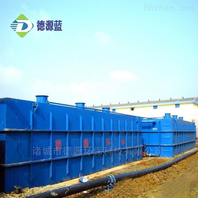 小区生活污水处理设备工艺流程