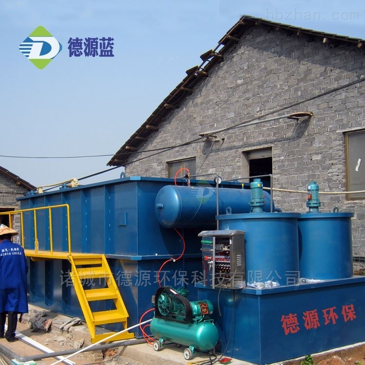 洗涤污水处理设备操作灵活 溶气气浮机厂家