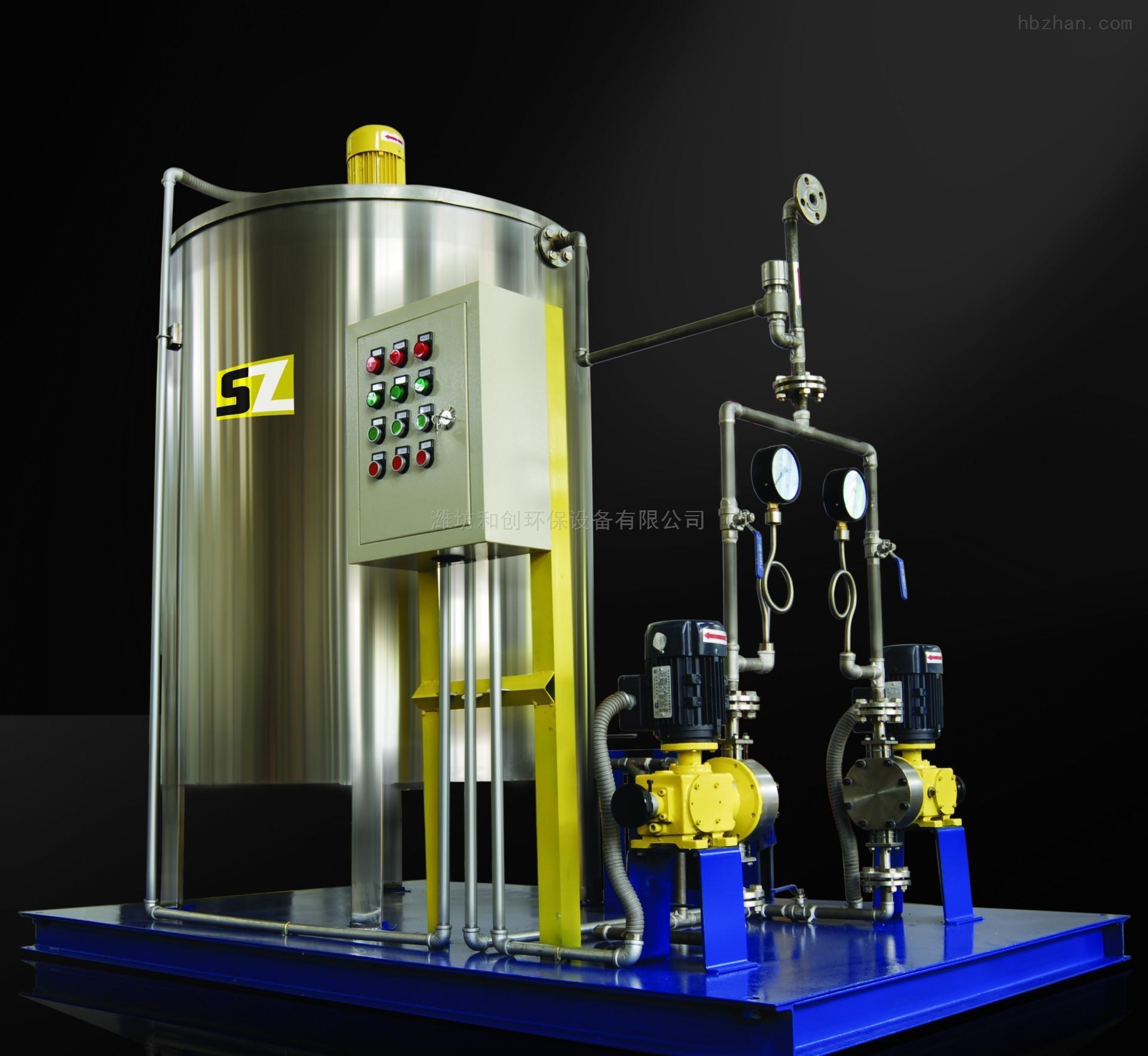 专业除藻投加装置高锰酸钾加药设备供应商