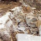 挖地基遇到硬石头不让放炮用什么方法