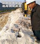 惠州地基基坑挖石头替代破碎锤静态爆破方案
