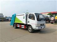 东风5吨压缩式垃圾车 国五后装式垃圾转运车