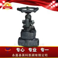 J61H/Y型锻钢承插焊截止阀