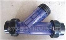 中西(L)PVC材质Y型过滤器库号M251974