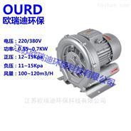 0.55KW漩涡高压气泵