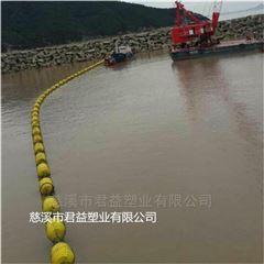供应河道疏浚塑料浮体 水上标志浮体