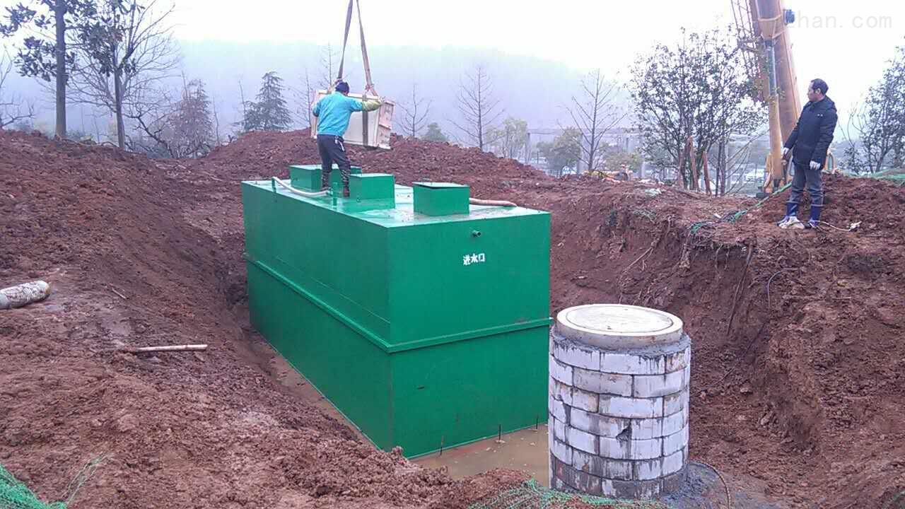 包头生活污水处理设备安装说明