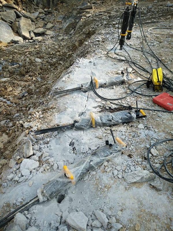 四川攀枝花静态破石头机器硬石头破裂机保证