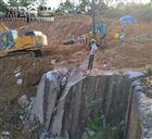 YGF四川遂宁房屋建设土石方开挖静态劈石机替代传统开采