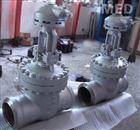 电动焊接闸阀Z961H
