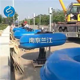 潜水离心式曝气机漂浮式徐州现场安装指导