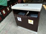 步行街果皮箱系列 青蓝热销钢板垃圾桶 大容量垃圾桶