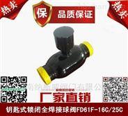FDQ61F锁闭式全焊接球阀