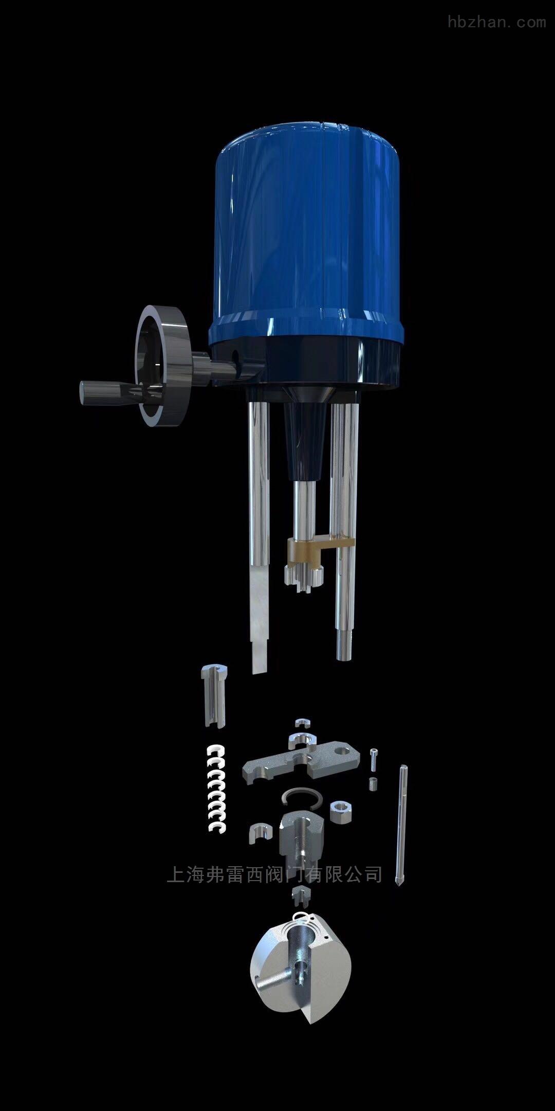 高压的伺服电机针型阀、浓水调节阀