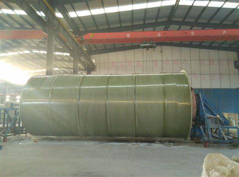 小区生活玻璃钢废水处理设备