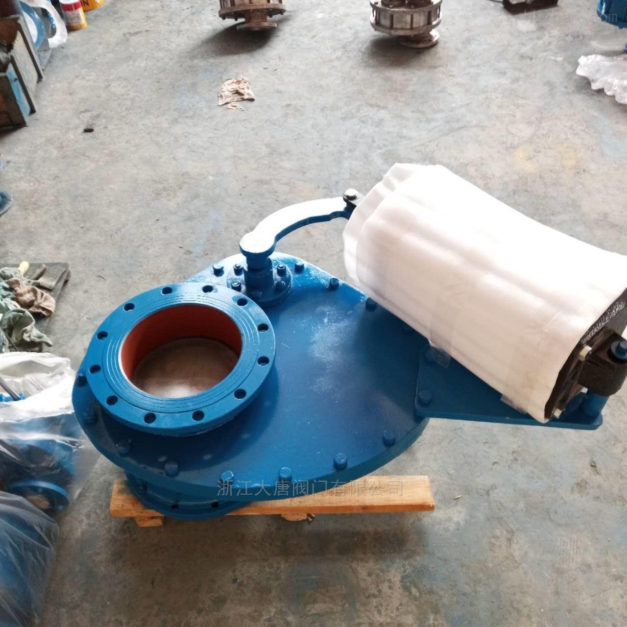 大唐阀门-气动摆动式陶瓷进料阀