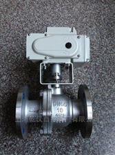 Q941F-40C铸钢电动阀门 油田专用电动球阀 Q941F-16C