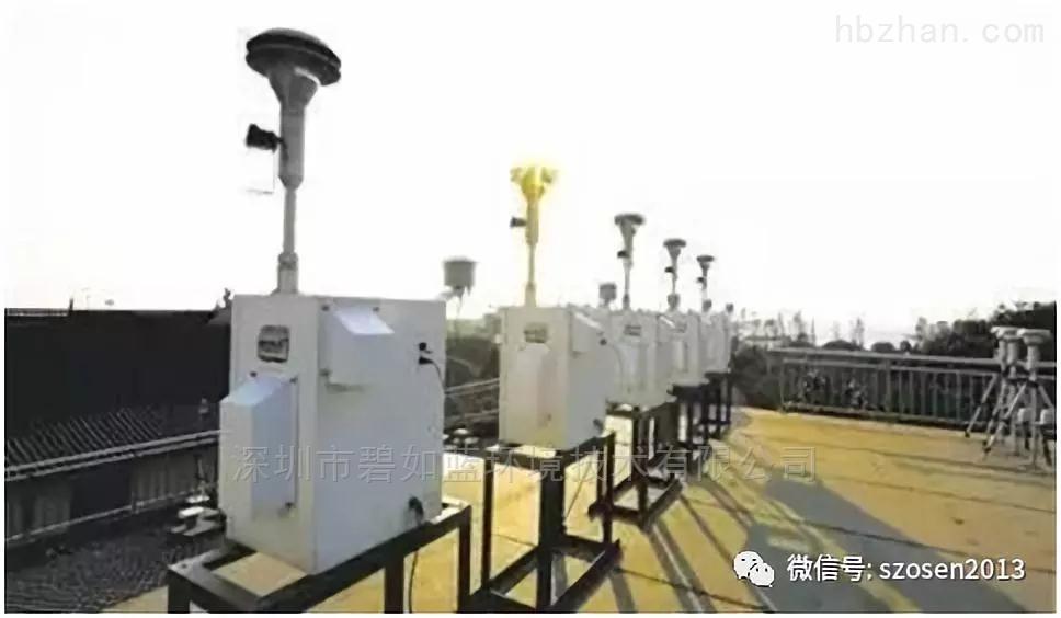 户外环境网格化微型空气站方案