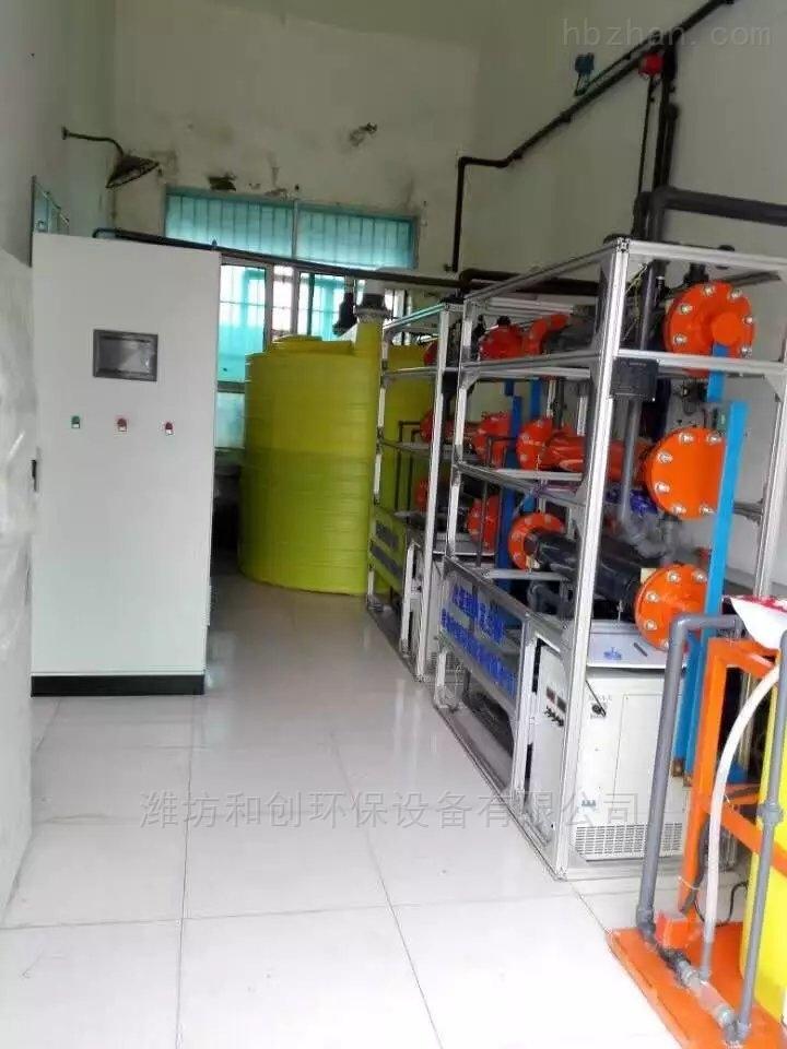 水厂改造应用次氯酸钠发生器消毒设备