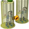 KWBZ-1000鞍山一体化雨水泵站