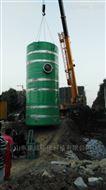 KW-2000玻璃钢预制提升泵站