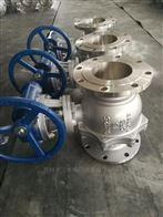 不銹鋼渦輪傳動球閥