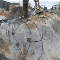 桂林电动泵站石头分裂枪开石机