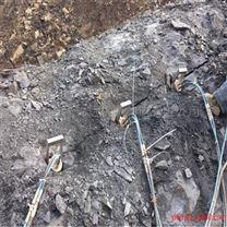 绵阳地基基坑岩石破碎劈裂机