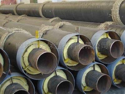 钢套钢地埋式蒸汽保温管