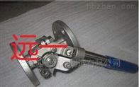 上海不锈钢弹簧自动复位球阀THQ41F-16P/THQ41F-16R