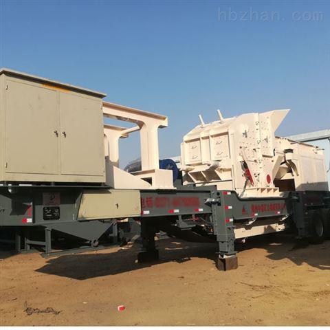 三亚移动式破碎设备 海南建筑垃圾如何处理