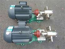 不锈钢齿轮油泵型号参数及选型